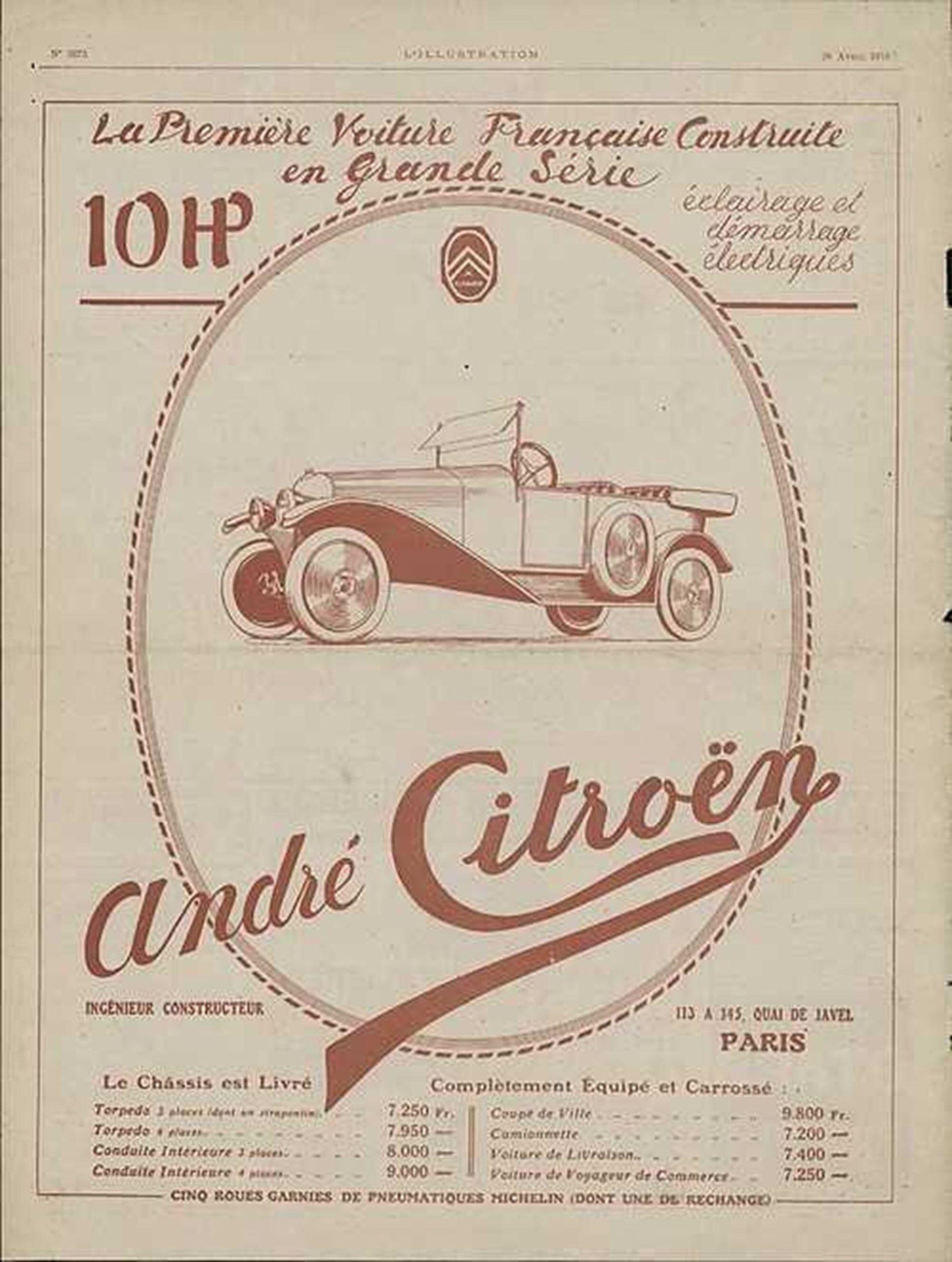 Histoire de Citroën